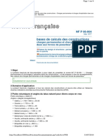 NF P06-004 (Mai 1977) _ Bases de Calcul Des Constructions - Charges Permanentes Et Charges d'Exploitation Dues Aux Forces de Pesanteur
