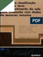 Sistema de Classificação de uso da terra e do revestimento do solo para utilização com dados de sensoriamento remoto_ANDERSON