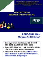 Audit Internal Ppt