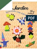 Brincando Com Dobradura- O JARDIM