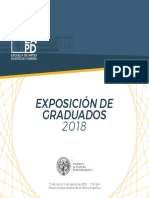 Exposicion de Graduados 2018