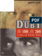 Georges Duby, Año 1000, año 2000