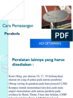 Cara Pemasangan PARABOLA.pptx