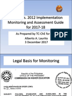 CMO 37 Monitoring Guide for HEI-2018