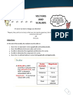 Module 2-Vector and Scalar