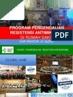 Program Pengendalian Resistensi Antimikroba Di Rumah Sakit