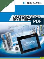 Automation System Sigmatek e