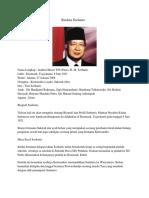 Biodata Soeharto