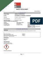 SDS 4 Methyl 5 Thiazoleethanol (Fisher Scientific)