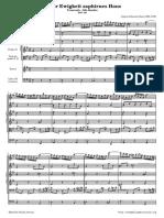 Bach 198 Der Ewigkeit Orquesta