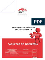 Reglamento de Practicas Final Preprofesionales Fi