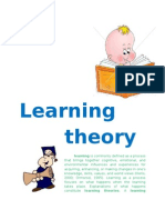 Learning Theory (2)