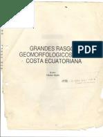 Grandes Rasgos Geomorfologicos de la Costa Ecuatoriana