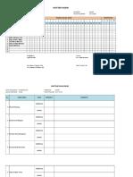 Daftar Hadir Dan Nilai x Ibb Fix E-rapor Feby