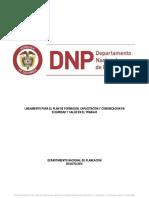 SO-L05 Lineamiento Para El de Plan de Formación, Capacitación y Comunicación en SST.pu