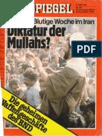 Der Spiegel - Diktatur der Mullahs
