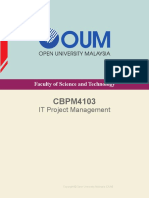 CBPM4103 IT Project Management