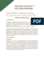 Informacion Dengue Manabi Portoviejo y Ecuador