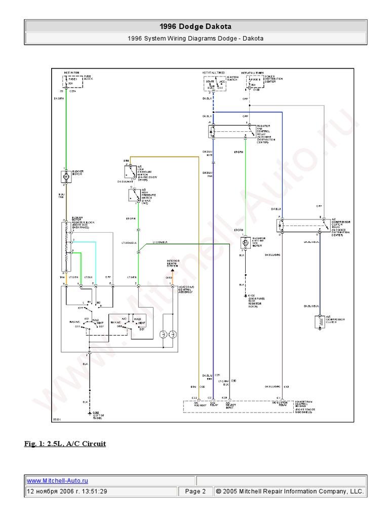 dodge dakota overhead console wiring diagram 1996 dodge dakota wiring pdf  1996 dodge dakota wiring pdf