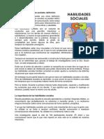 Habilidades Sociales - A