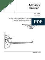 Ac90-89a (Amateur-Built Aircraft & Ultralight Flight Testing Handbook )