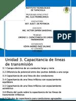 Unidad 3 Capacitancia de Líneas de Transm