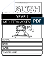 Year 1 Mid Term Assessment for Blog