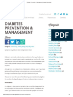 boyd media assignment diabetes prevention and management blog