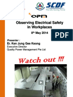 Eletrical Fire Safety in Workplaces