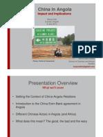 China in Angola