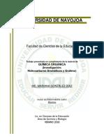 Hidrocarburos Aromáticos y Grafeno