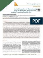 Seismic Time Fractal Dimension for Characterizing Shajara Reservoirs of The Permo – Carboniferous Shajara Formation, Saudi Arabia