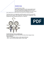 cara menghukan manifold gauge