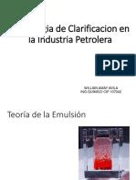 Tecnologia de Clarificacion Peru- Clases Trata Agua 2018