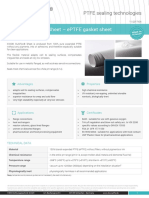 ePTFE Gasket Sheet
