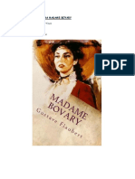 Análisis de La Obra Madame Bovary