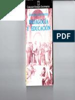 Caponnetto, Antonio - Pedagogía y Educación
