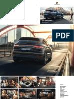 Porsche Cayenne Brochure