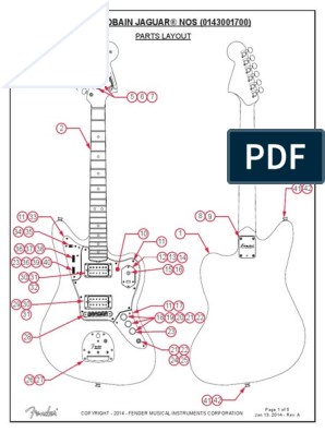 kurt cobain jaguar specs wiring | pdf | celtic musical instruments | irish  musical instruments  scribd
