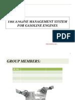 The Engine Management System for Gasoline Engines