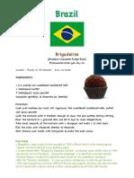 Brigadeiro Recipe