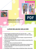 Sosialisasi Kelas Ibu 2015