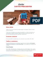 FAQs IZettle Clientes 2015