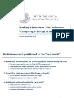 Mediobanca Presentation - 2010
