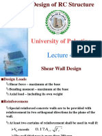Dokumen.tips Advance Design of Rc Structure Lecture 4 University of Palestine Shear Wall