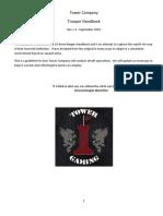 Tower Company Trooper Handbook