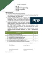 3. Analisiss Kompetensi