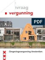 Omgevingsvergunning folder Amsterdam