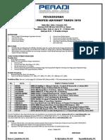 Ujian Profesi Advokat PERADI - Okt.2010