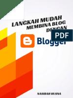 Full Langkah Mudah Bina Blog